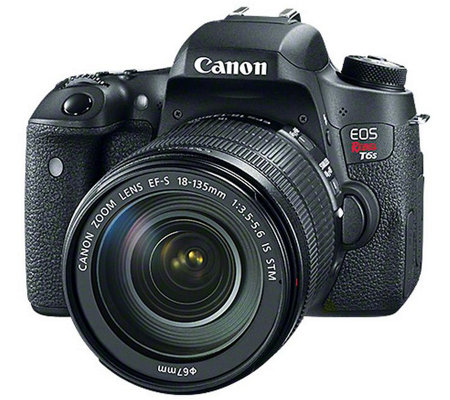 Canon EOS Rebel T6s DSLR Camera with 18-135mm Lens