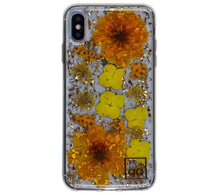ROQQ Blossom Pressed Flowers Case for iPhoneX/XS