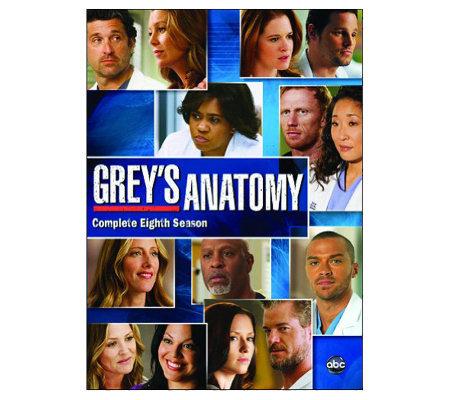 Grey S Anatomy Season 8 Six Disc Set Dvd