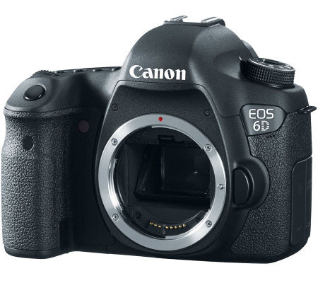 Canon EOS 6D 20.2MP DSLR Camera Body Only