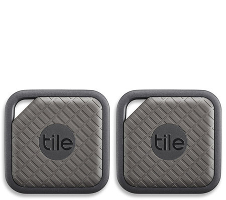 Tile Sport Bluetooth Key Tracker Two-Pack