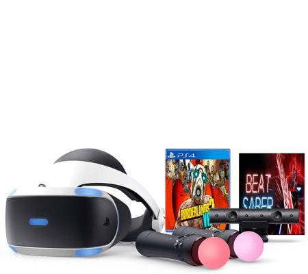PS4 VR Headset Borderlands 2 and Beat SaberBundle — QVC com