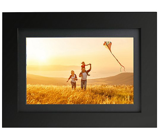 "Brookstone 8"" PhotoShare Friends and Family Smart Photo Frame"