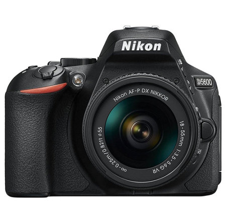 Nikon D5600 24.2MP DSLR Camera with 18-55mm Lens