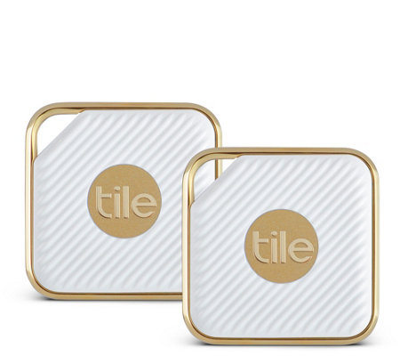Tile Style Bluetooth Tracker - Two-Pack