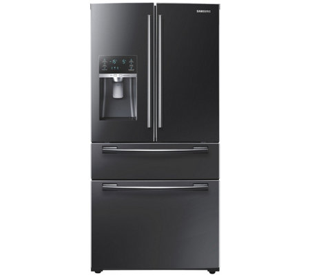 Samsung 25 Cu. Ft. French Door Refrigerator - Black Stainless