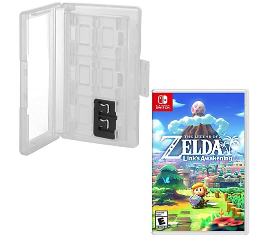 Nintendo Switch Zelda Link's Awakening Game &Game Caddy