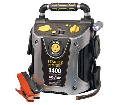 Stanley 1400 Peak Amp Jump Starter and Power Station