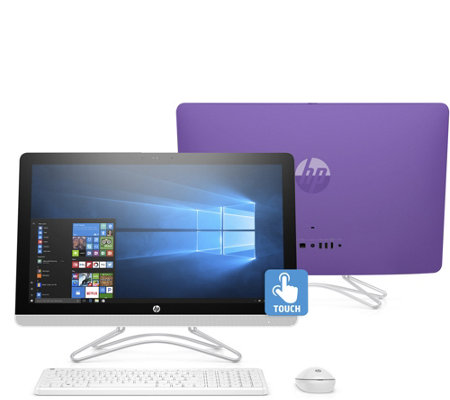 "HP 24"" Touch All-in-One PC Intel Core i3 1TB HDD w/ Tech Support"