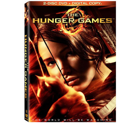 The Hunger Games 2-Disc DVD and UltraViolet Digital Copy