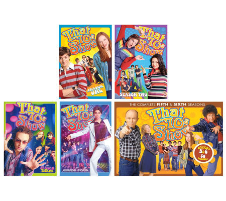 That '70s Show Complete Seasons 1-6 Five-Disc Set DVD