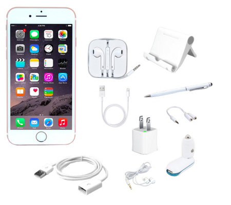 Apple iPhone 6s Plus 16GB Unlocked Smartphone w/ Accessories
