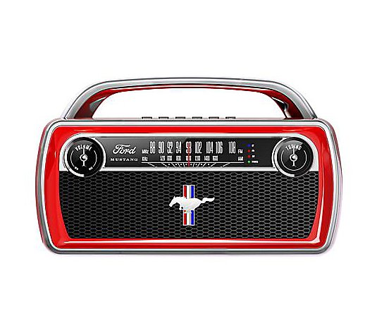 ION Audio Ford Mustang Portable Bluetooth Retro Stereo