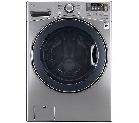 LG 4.5 Cu. Ft. Ultra-Capacity Front-Loading Washer - Graphite