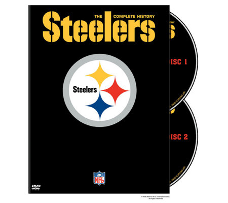NFL History of the Pittsburgh Steelers 2-Disc DVD Set