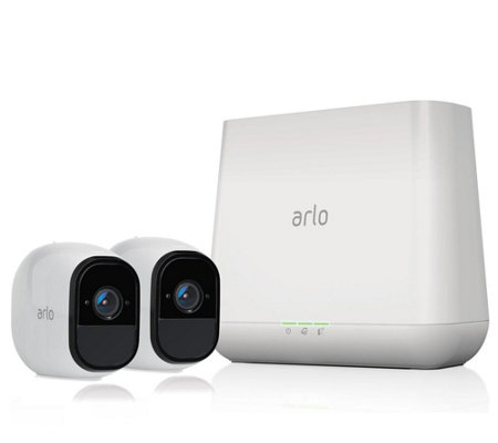 NetGear Arlo Pro Set of 2 Wireless HD SecurityCameras