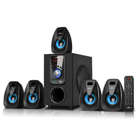 beFree BFS-400 5.1 Surround Sound Bluetooth Speaker System
