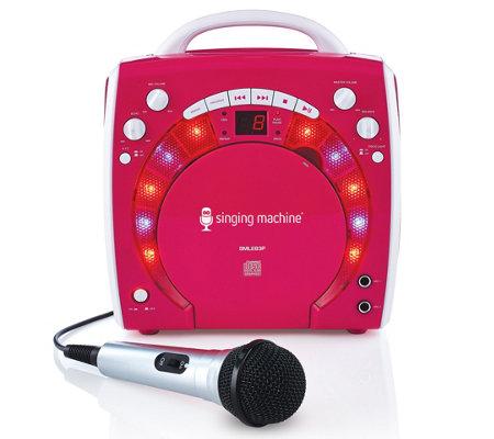 Singing Machine Karaoke Disco Lights And Microphone