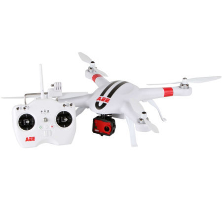 AEE AP Cam Camera Drone 1080P HD, GPS, Auto Return, Live View