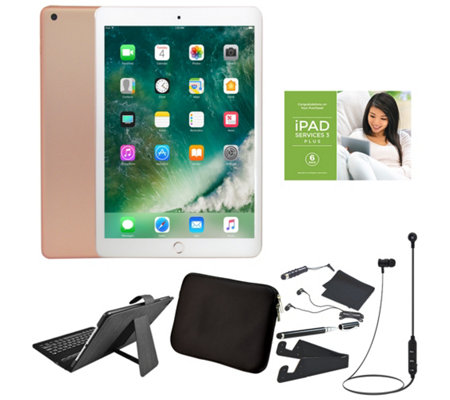 "Apple iPad 9.7"" 128GB Wi-Fi Tablet with Accessories & Voucher"