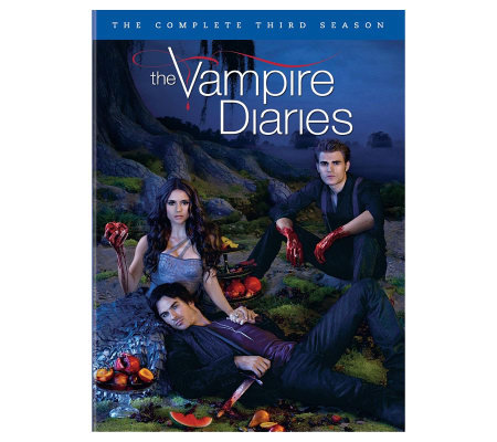 Vampire Diaries Season 3 Five Disc Set Dvd