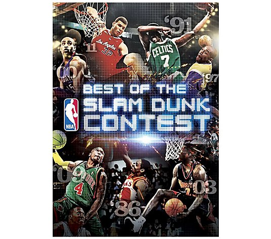Best of the NBA Slam Dunk Contest DVD