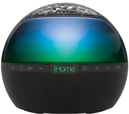 iHome Bluetooth Color Changing Speaker with 360-Degree Sound