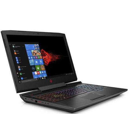 "HP 17.3"" Omen Laptop - Core i7, 12GB RAM, 1TB HDD, 128GB SSD"