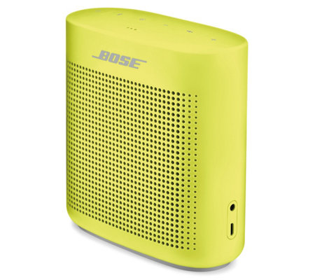 Bose Soundlink Color Ii Bluetooth Speaker Page 1 Qvc