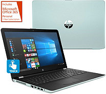 Hp 17 Touch Laptop Core I3 8gb 2tb Hdd With Office 365