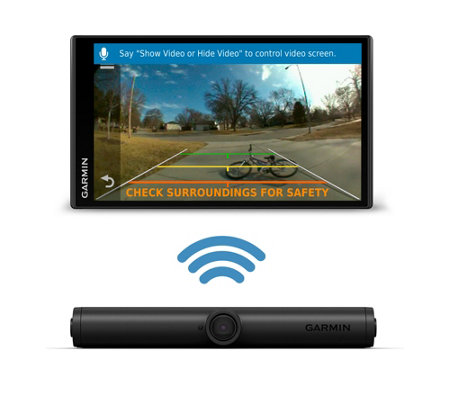 Garmin DriveSmart 55 GPS with BC 40 Wireless Backup Camera — QVC com
