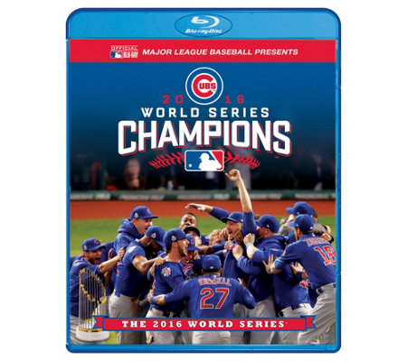 Chicago Cubs 2016 World Series Blu-ray/DVD