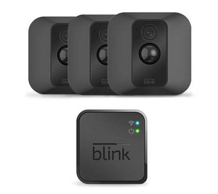 Blink XT 3-Pack HD Weatherproof Security Camera w/ Motion Sense & Night Vision