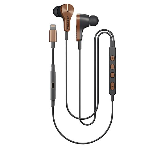 Pioneer Rayz Plus Lightning Powered Noise-Canceling Earphones