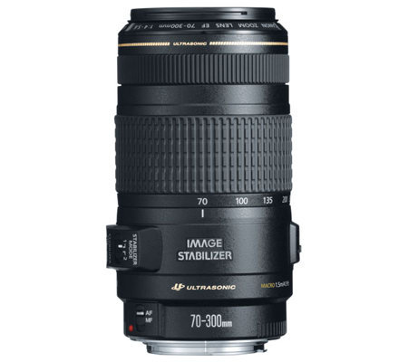 Canon EF 70-300mm f4-5.6 IS USM Zoom Lens w/Optical Stabilize