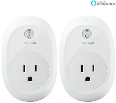 TP-Link Set of 2 Wi-Fi Smart Plugs with Energy Monitoring