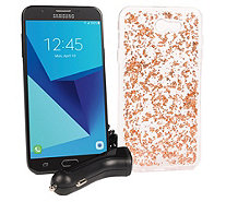 "TracFone Samsung Galaxy J7 Sky Pro 5.5"" w/ Case & 1200 Min/Text/Data - E231716"