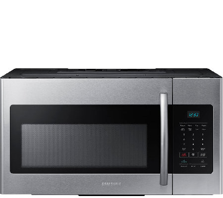Samsung 1.6 Cu. Ft. Over-the-Range Microwave -Stainless Steel