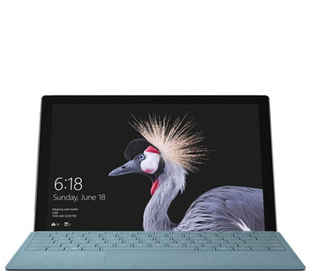 Microsoft Surface Pro Core i7 8GB 256GB with Keyboard & Offic