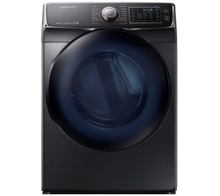 Samsung 7500 Series 7.5 Cu Ft Electric Dryer -Black Stainless