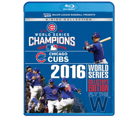 Chicago Cubs 2016 World Series Blu-ray/DVD Collectors Set
