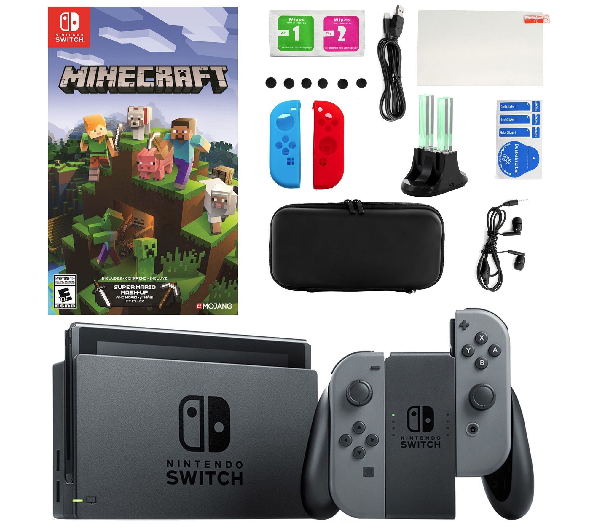12% off a Nintendo Switch with Minecraft