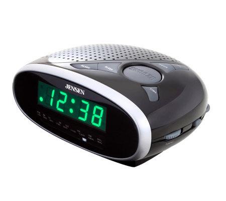 Jensen Jcr 175 Jensen Am Fm Dual Alarm Clock Radio