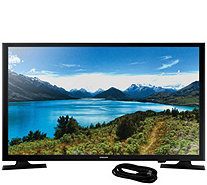 "Samsung 32"" LED 720p HDTV and 6' HDMI Cable - E291519"