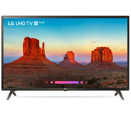 "LG 43"" 4K UHD Smart ThinQ AI LED TV with HDR"