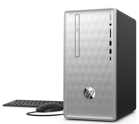 HP Pavilion Desktop - Ryzen, 4GB, 1TB & Software
