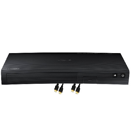 Samsung Smart Blu-ray Player with 2 HDMI Cables