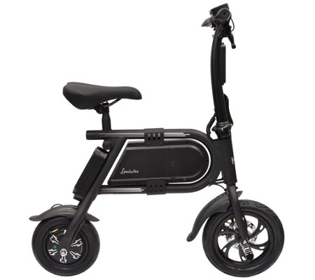 Electric Scooter Bike >> Hover Way Sprinter Collapsible Electric Scooterbike Page 1 Qvc Com