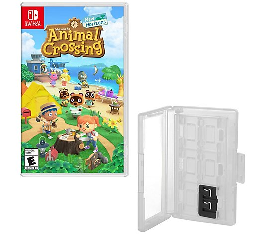 Nintendo Switch Animal Crossing New HorizonsGame & Caddy