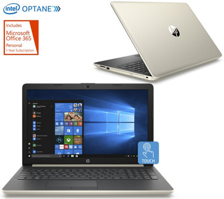 "HP 17"" Touch Laptop Intel i3 w/ 16GB Optane, 1TB HDD, Office & Tech Support"